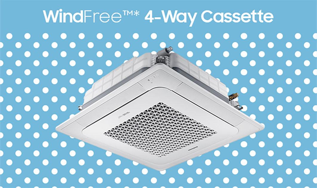 WindFree 4-Way Cassette